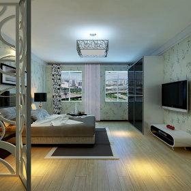 简约时尚卧室二居装修图
