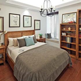 美式乡村风格卧室装修效果展示