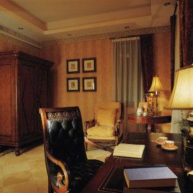 美式古典美式古典风格古典风格书房装修图
