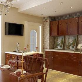 美式厨房设计案例展示