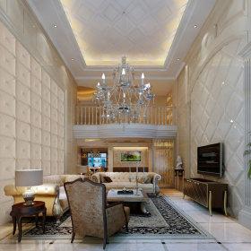 欧式欧式风格客厅跃层图片