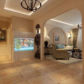 地中海玄关玄关柜设计案例展示