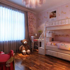 现代儿童房窗帘图片