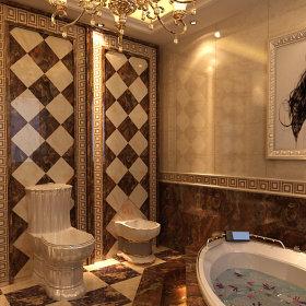 新古典卫生间别墅图片