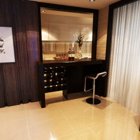 简约卧室吧台酒吧设计方案