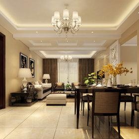 现代简约现代简约客厅20平米120平米设计图