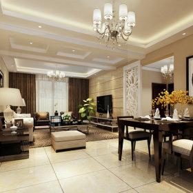 现代简约现代简约客厅20平米120平米设计案例展示