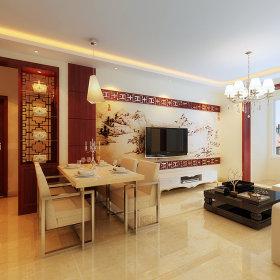中式餐厅沙发装修效果展示