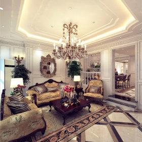 客厅别墅设计案例