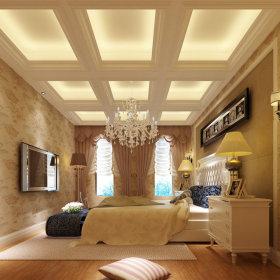 欧式卧室吊顶案例展示