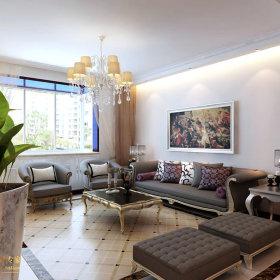 欧式客厅设计案例