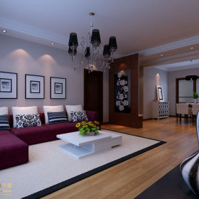 简约客厅沙发案例展示