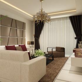 现代简约现代简约客厅装修案例