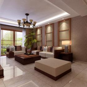 中式中式风格新中式客厅沙发客厅沙发设计案例展示
