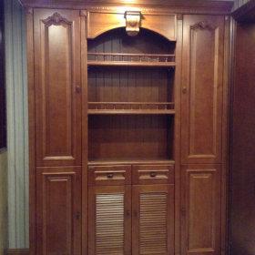 中式玄关玄关柜装修图