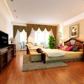 中式卧室电视柜设计案例