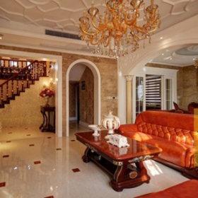 欧式古典欧式古典风格古典风格客厅装修案例