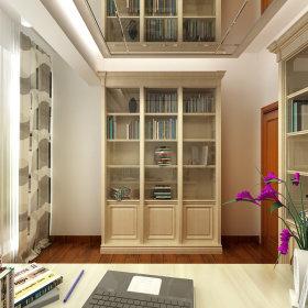 简约简约风格书房装修图