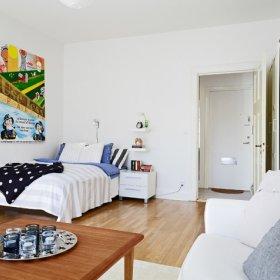 现代卧室沙发茶几装修案例