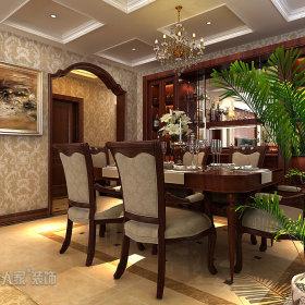 简欧餐厅图片