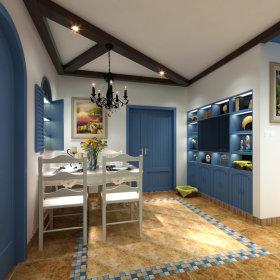 地中海餐厅设计方案
