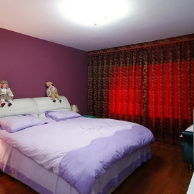 简约卧室窗帘设计方案