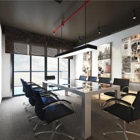 现代会议室装修效果展示