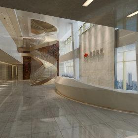 现代现代风格大厅设计图