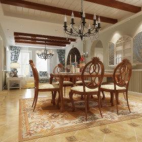 美式美式风格餐厅设计案例展示