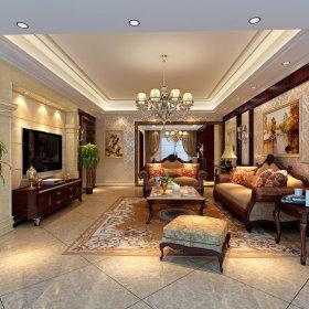 古典古典风格客厅装修图