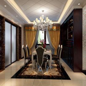 古典古典风格餐厅设计方案