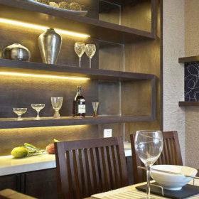 中式中式风格酒柜装修案例