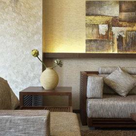 中式中式风格客厅背景墙沙发客厅沙发设计图