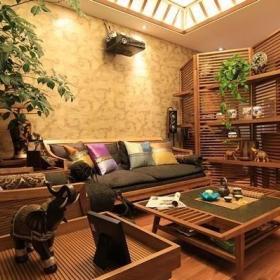 东南亚客厅装修图
