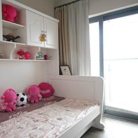 儿童房床架柜子设计案例展示