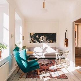 北欧客厅图片