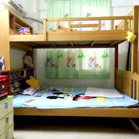 现代简约儿童房上下床案例展示