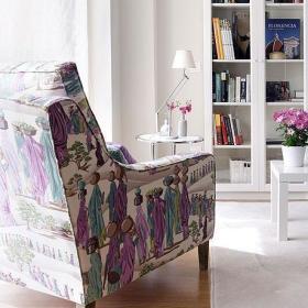 田园沙发单人沙发效果图