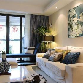 客厅沙发台灯射灯设计案例展示