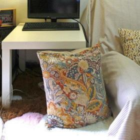 沙发懒人沙发写字桌设计案例