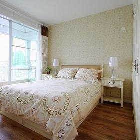 田园自然卧室实木家具图片