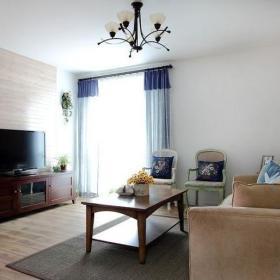客厅背景墙实木家具电视背景墙装修效果展示