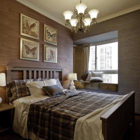 田园自然田园风格卧室案例展示