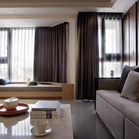 客厅窗帘设计案例