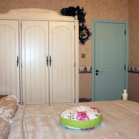 美式美式风格乡村风格卧室衣柜设计案例