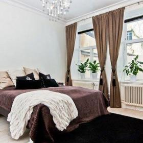 卧室窗帘装修效果展示
