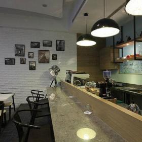 423平岛国之餐厅吧台装修效果图