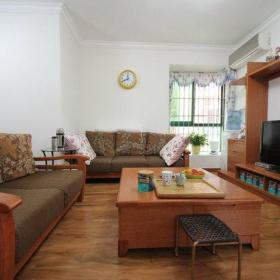 中式中式风格客厅吊顶强化木地板木地板设计图