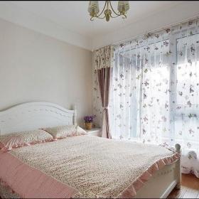 韩式浪漫卧室设计方案