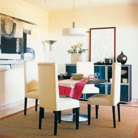 现代现代风格客厅餐厅沙发椅设计方案